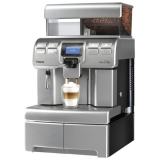 Saeco Aulika Top High Speed Cappuccino Silver/Black